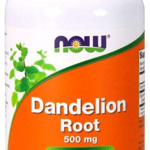 Extrakt z kořene pampelišky lékařské 500 mg 100 kaps. - NOW Foods