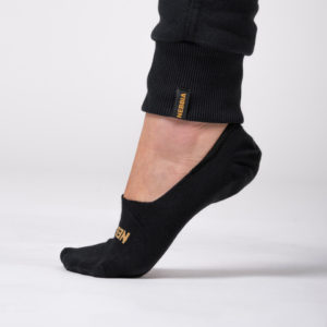 Ponožky No Show Socks Intense Black 39 - 42 - NEBBIA