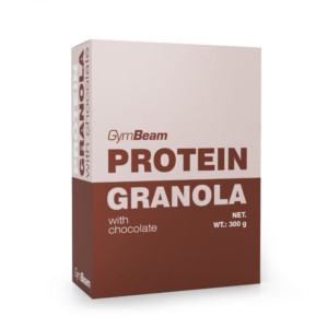 Proteinová granola s čokoládou 300 g - GymBeam