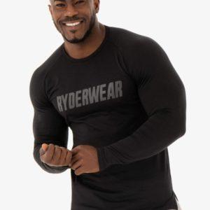 Tričko Long Sleeve T-shirt Flex Black XL - Ryderwear