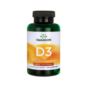 Vitamín D3 1000 IU 250 kaps. - Swanson