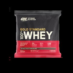 Vzorek 100% Whey Gold Standard 30 g vanilková zmrzlina - Optimum Nutrition