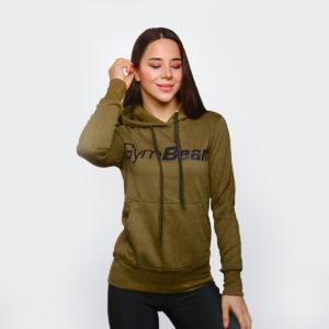Dámská Mikina Athlete Military Green XL - GymBeam