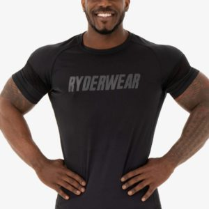 Pánské tričko Flex Mesh Black XL - Ryderwear
