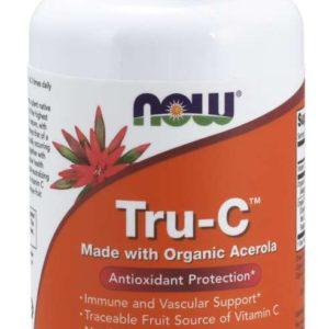 Tru-C™ 60 kaps. - NOW Foods