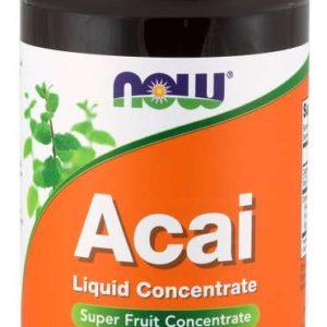Acai tekutý koncentrát 473 ml - NOW Foods
