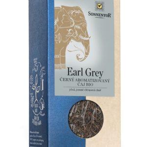 BIO Černý čaj Earl Grey sypaný 90 g - Sonnentor