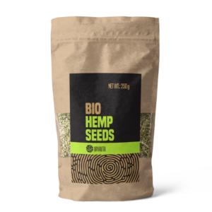 BIO Konopná semínka - loupaná 250 g - VanaVita