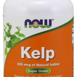 Jód extrakt z kelpu 325 mcg 250 kaps. - NOW Foods