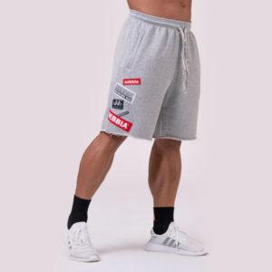 Pánské šortky Logo Tapping Grey XXL - NEBBIA