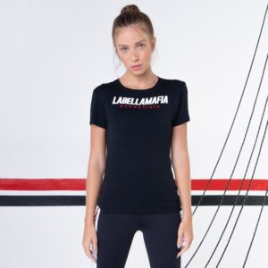 Dámské tričko Preto Essentials Black L - LABELLAMAFIA