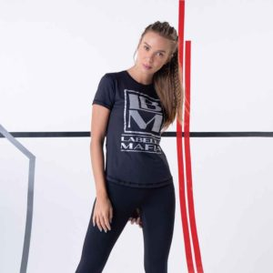 Dámské tričko Silver Camiseta Navy L - LABELLAMAFIA