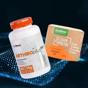Kloubní výživa Arthro Plus 120 kaps bez příchuti - GymBeam
