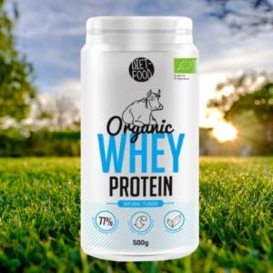 Organic Whey Protein 500 g přírodní - Diet Food