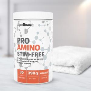 ProAMINO Stim-free 390 g pomeranč - GymBeam