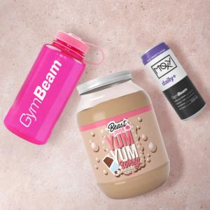 Protein Yum Yum Whey 1000 g vanilková zmrzlina - BeastPink