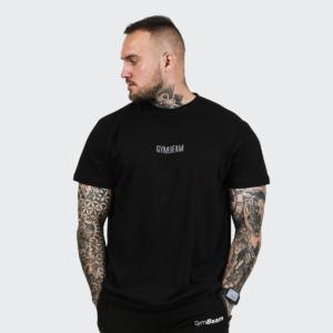Tričko FIT Black XXL - GymBeam