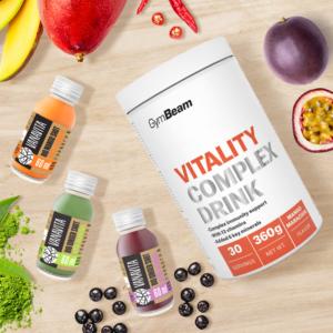 Vitality Complex Drink 360 g zelené jablko - GymBeam